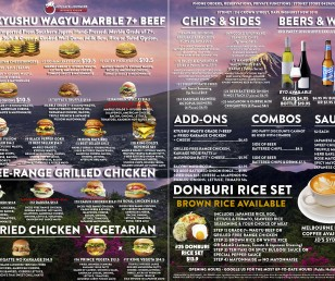 NEW BURGER MENU RELEASED!