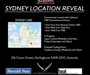 SYDNEY STORE LOCATION REVEAL!